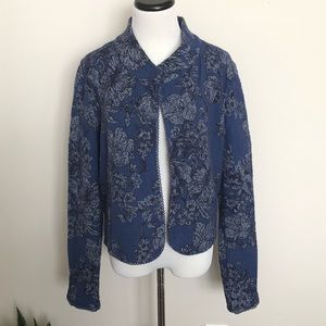Knitted & Knotted Nightshade Jacquard Jacket